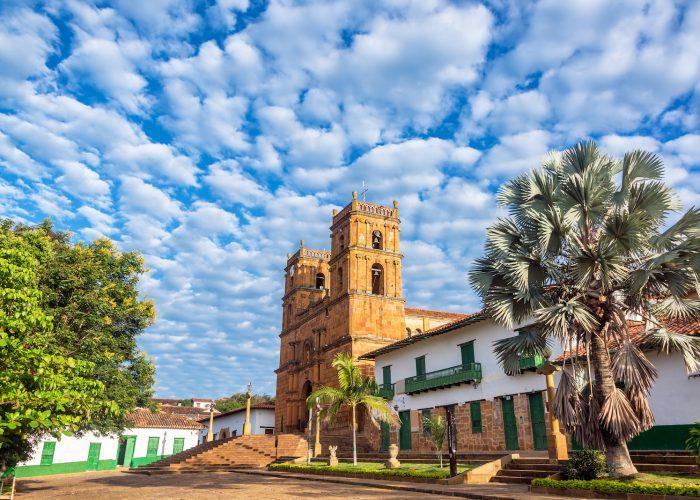 Barichara Colombia Church