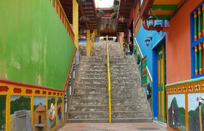 Stairs, Guatape