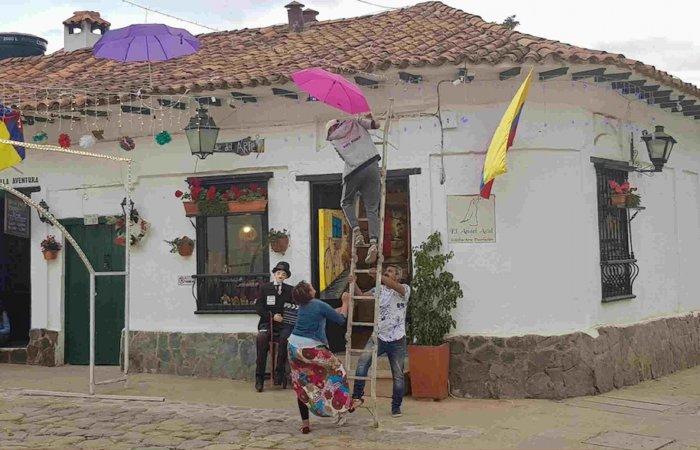 Umbrellas, Villa de Leyva