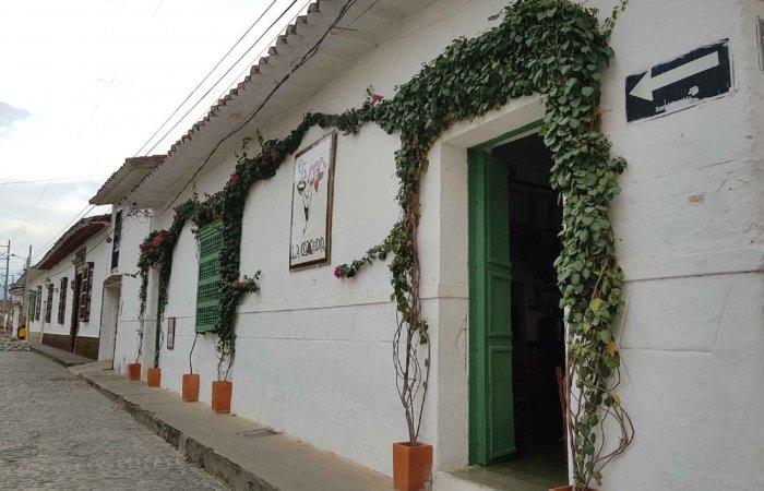 Street, Santa Fé de Antioquia