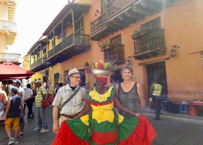 Palenquera, Cartagena