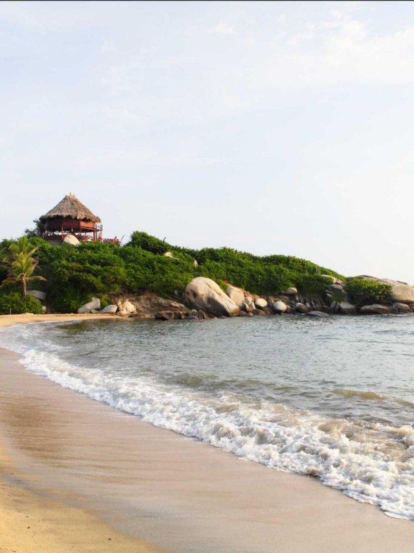 Beach, Cabo San Juan, Tayrona Park