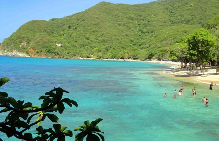 Playa Cristal, Tayrona Park