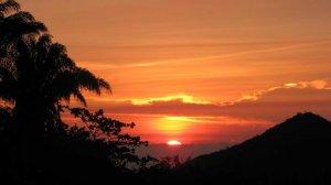 Sunset, Minca