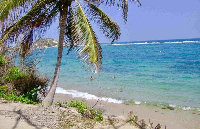 Beach, Tayrona Park