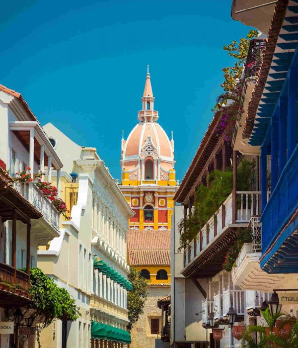 Old City, Cartagena