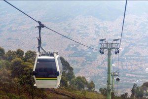 Cable Car, Medellin