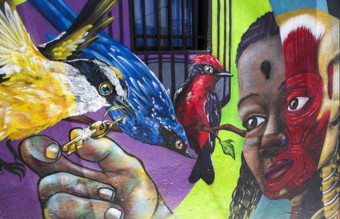 Graffiti, Comuna 13