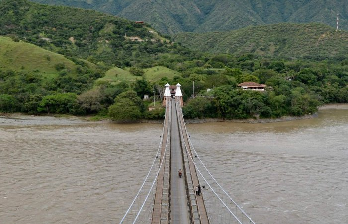 Hanging Bridge, Santa Fé de Antioquia