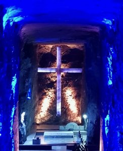 Altar, Salt Cathedral, Zipaquira