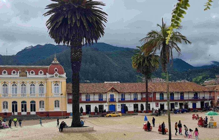 Zipaquira Town