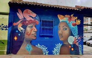 Graffiti, La Candelaria