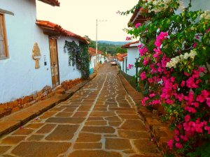 Street, Barichara