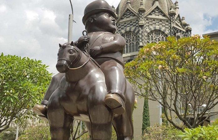Man On Horse, Plaza Botero, Medellín