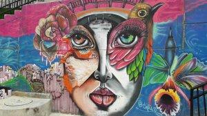 Graffiti, Comuna 13, Medellín