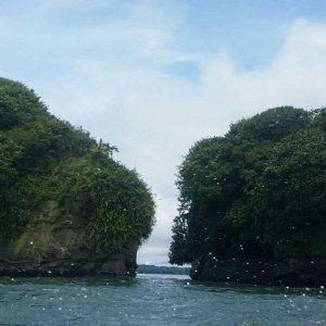 Cliffs, Pacific Coast
