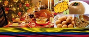 Colombia Christmas food
