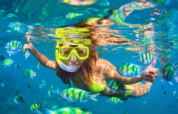 Snorkeling, Playa Cristal