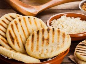 Colombian Breakfast - Arepas