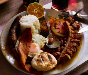 Colombian Big Breakfast